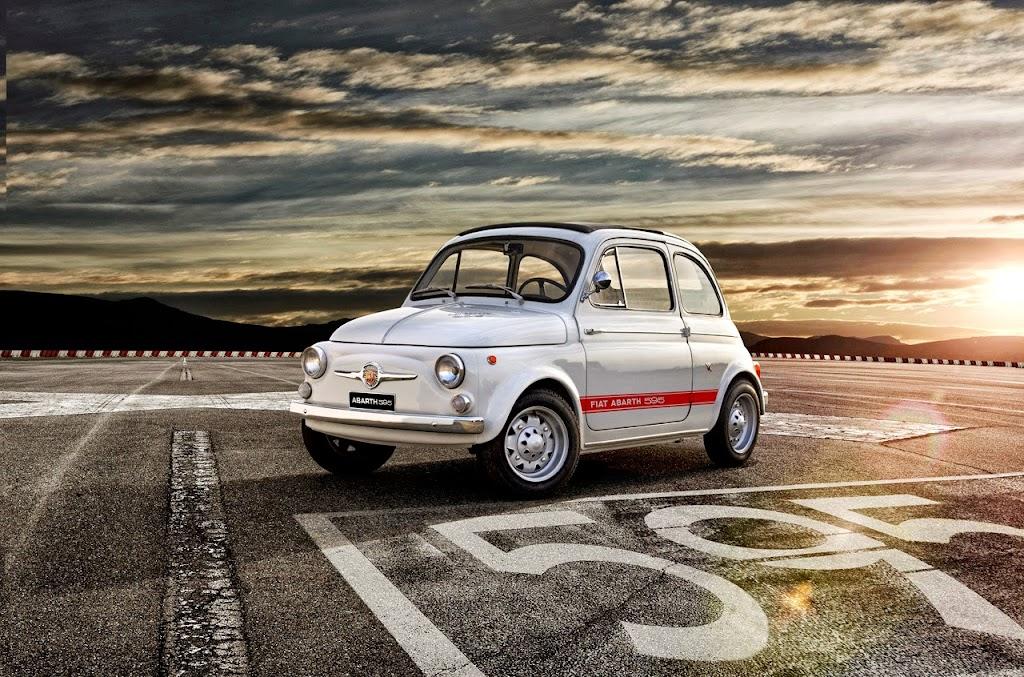 Original Fiat Abarth 595
