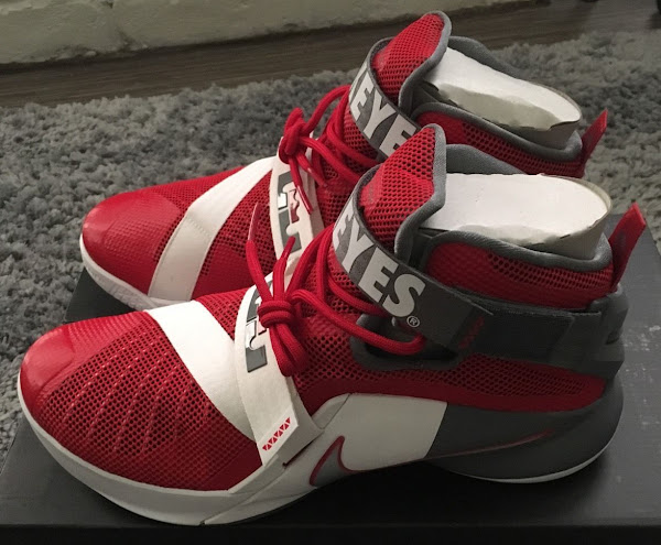 Nike LeBron Soldier 9 Ohio State University Might Drop Soon