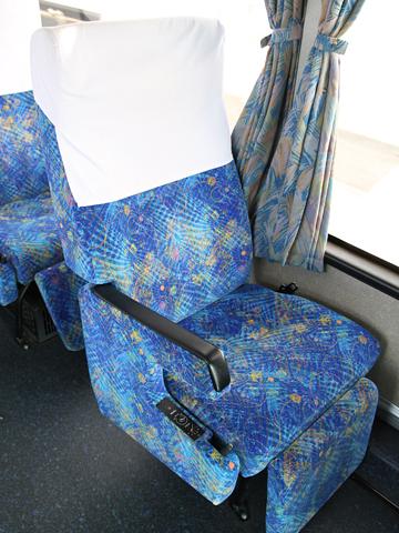 西鉄高速バス「桜島号」 6021 シート