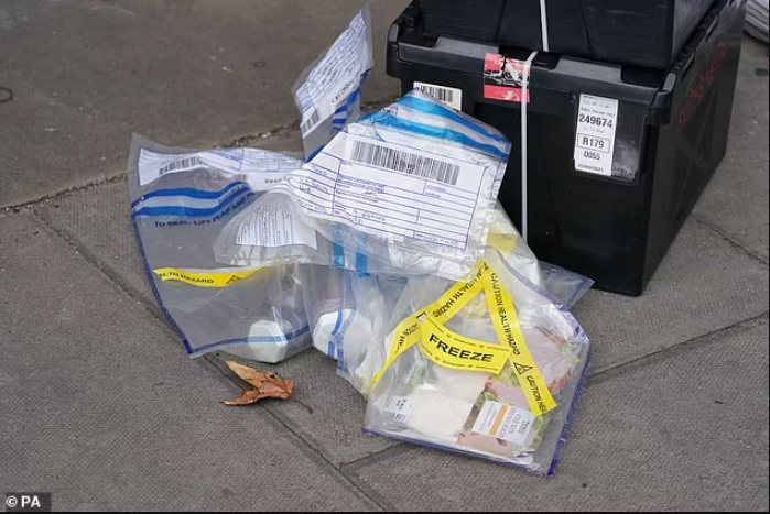 Update: Man charged with 'contaminating or interfering with goods' after several items of food were 'injected with unknown substance' at London supermarkets