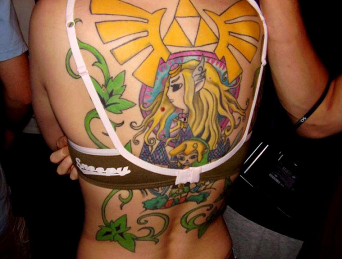 The 100 best video game tattoos  GamesRadar