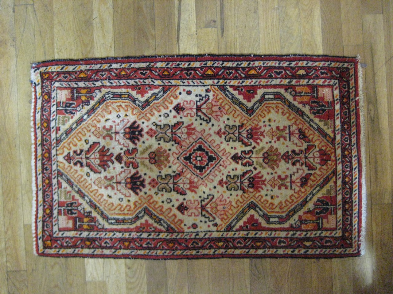 Small Floral Rug