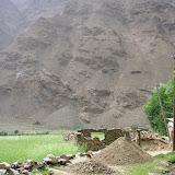 Village de Sist dans le Pamir occidental (Sud de Khorog), 2320 m, 7 juillet 2008. Photo : Jean-François Charmeux