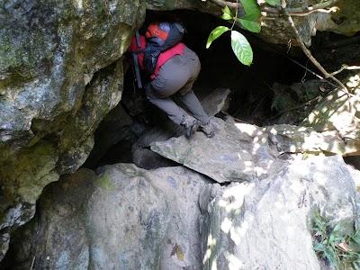 グアテリンガ洞窟入り口
