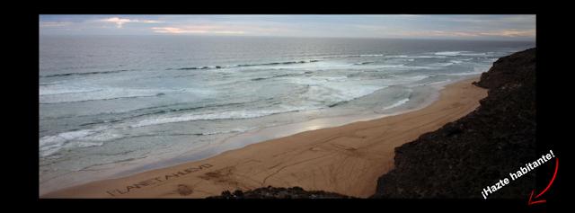 foto playa planetahuevo