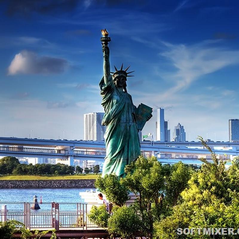 Статуя Свободы и её многочисленные копии