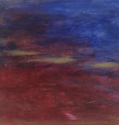 The Golden Moment.  Artist Kim Rodeffer Funk. Experiences: An Online Gallery Show of Small Paintings
