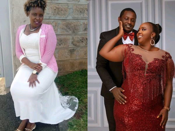 Eunice Wanene, the ex-wife to comedian Terence photo