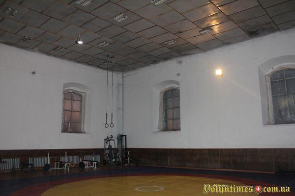 Луцька синагога - спортзал.