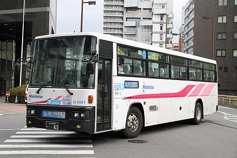 西日本鉄道「いとうづ号」 3337