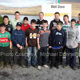 Young competitors who took part in a sheep Judging event at the 21st Achill Sheep Show (Taispeántas Caorach Acla 2007) at Pattens Bar, Derreens Achill. Photo: © Michael Donnelly