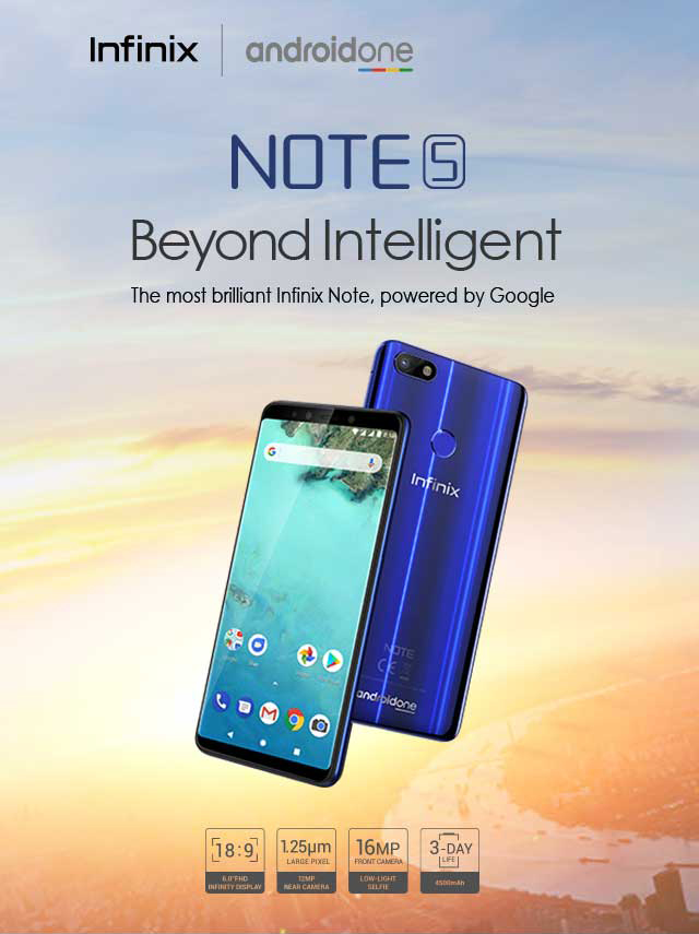 Infinix Note 5: Key Specs And Advantage of Its Special Operating System