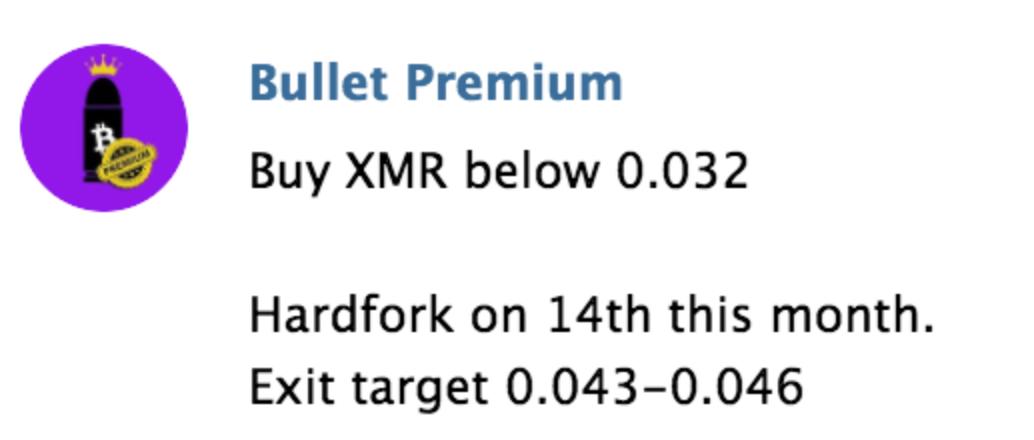bullet premium signals