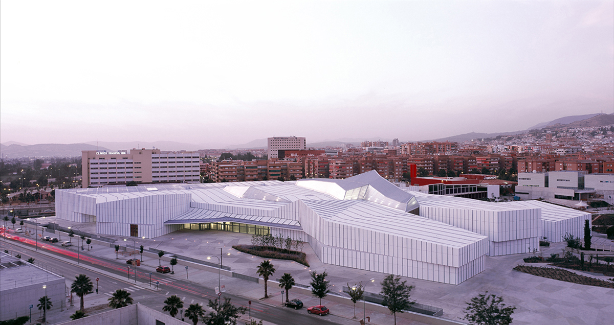 Granada Science Park design by Ferrater + Jimenez Brasa