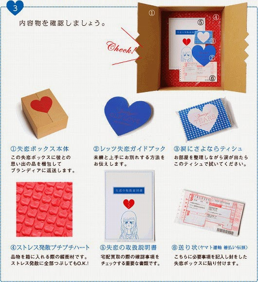 heartbreak box japan