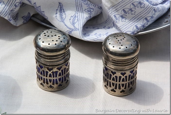 Cobalt Blue Salt and Pepper