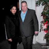 WWW.ENTSIMAGES.COM -      Janice Vee and Stefan Frank at    Royal State Bed - launch party at The Orangery, Kensington Palace,  London March 21st 2013  ( Bed brand Savoir Beds unveil new Royal State Bed, designed ahead of the the brands sponsorship of Hampton Court Palace exhibition Secrets of the Royal Bedchamber) .                                                  Photo Mobis Photos/OIC 0203 174 1069