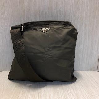 Prada Olive Green Crossbody Bag