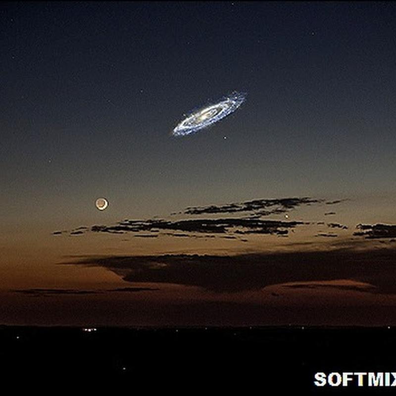 Занимательно о галактике Андромеды