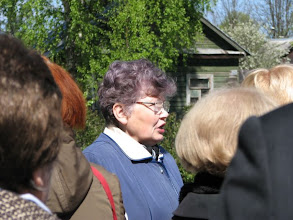 Photo: Директор дома-музея Анна Алексеевна Степанова