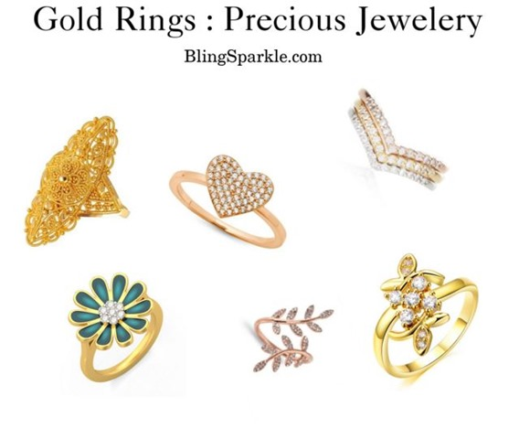 latest designs in gold rings 24 karat