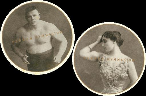German Gymnasium Coasters