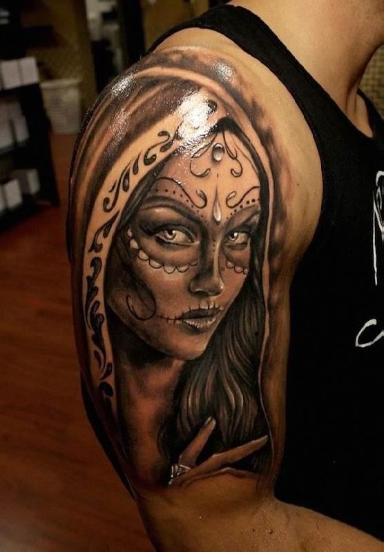 meia_manga_o_dia_dos_mortos_tatuagem