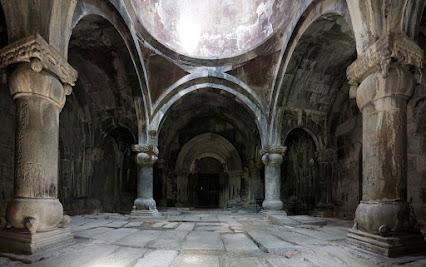 Das große Gavith im Kloster Haghpat