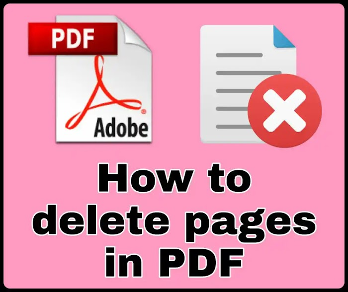 How to delete pages in PDF