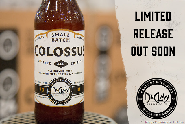 DuClaw Small Batch Limited Edition Colossus Returns