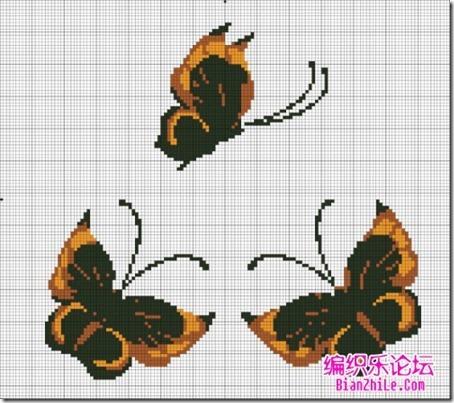 mariposas punto cruz (9)