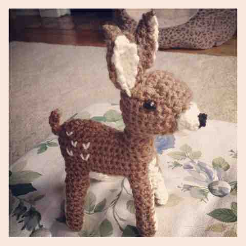 Amigurumi Deer : Another Sunday Girl: Say hello to my little friend: Deer ...