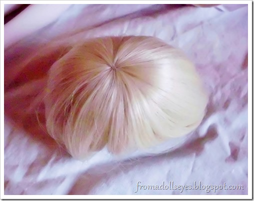 Of Bjd Hair: Reviewing Three Wigs? From Alice's Collections AFB4054 Blond Wig for msd bjds