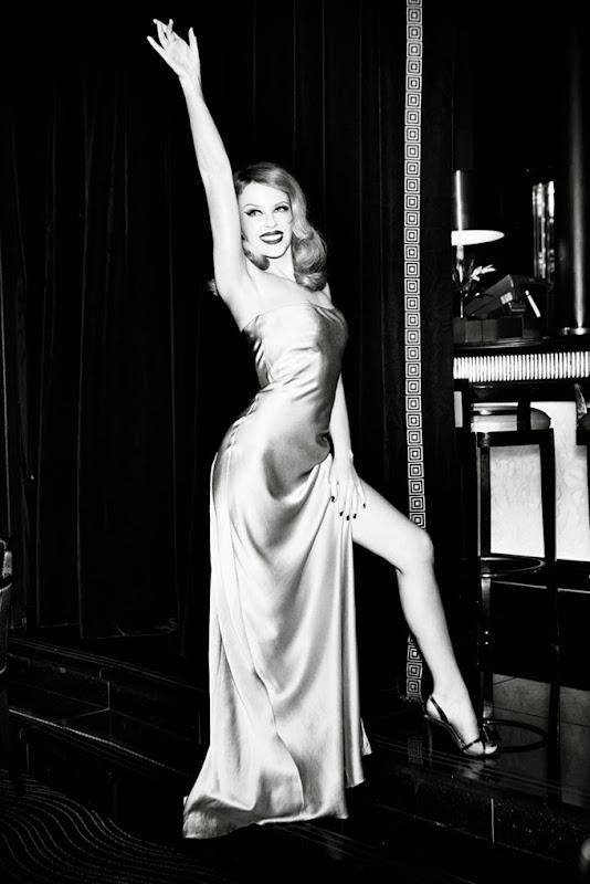 Kyilie Minogue for GQ Germany