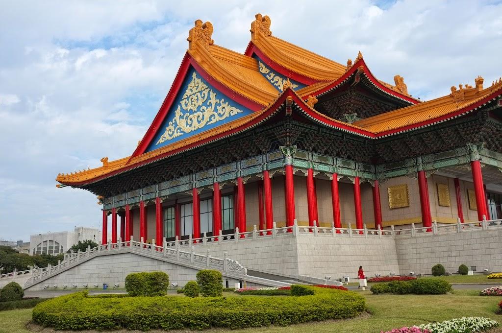 Chiang Kai-Shek Memorial Hall in Taipei