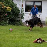 – Ganni elsker at lege med far