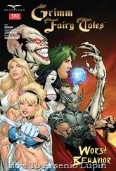 Actualización 30/05/2016: Actualizo Grimm Fairy Tales con el número #122 en el mes del 13º aniversario de La Mansion del CRG por Punkarra del CRG.