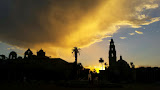 """Sunset over Balboa"" by Sita Thompson -- 2nd Place Digital General B"