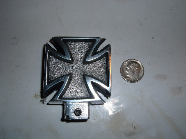 Iron Cross, use for dip stick handle, dash or shift knob..  20.00