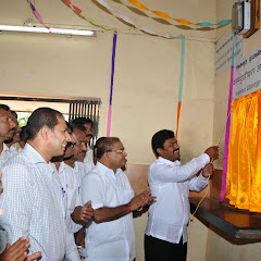 Inauguration of Railway Booking counter at Byndoor on 28-12-2013