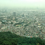 N Seoul tower in Korea in Seoul, Seoul Special City, South Korea
