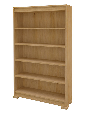 Hillside Standard Bookshelf in Ginger Maple