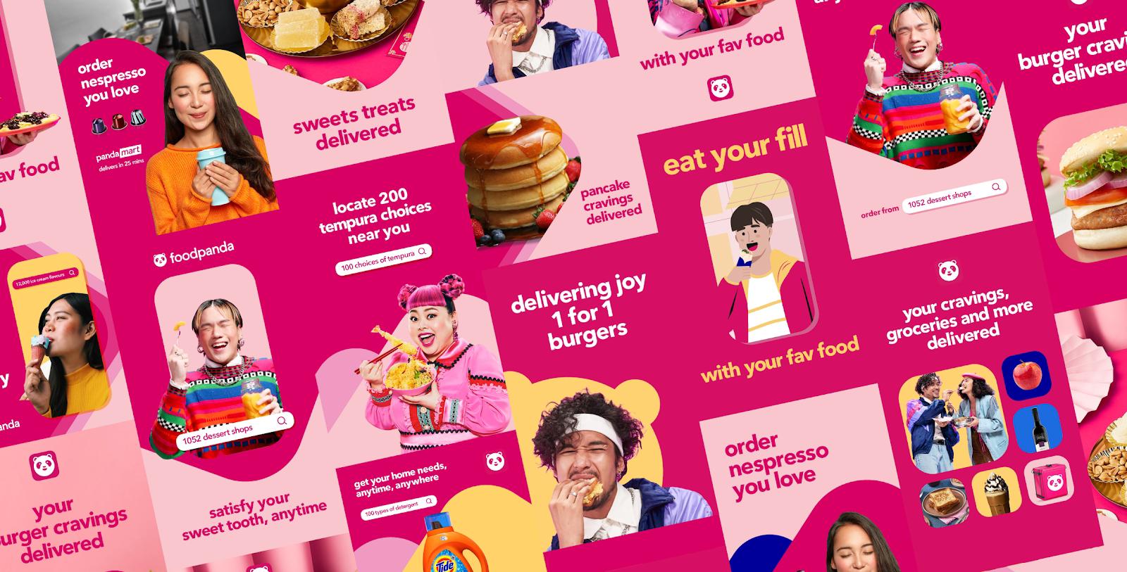 Foodpanda เผยโฉมแบรนด์ในลุคใหม่ทั่วเอเชีย