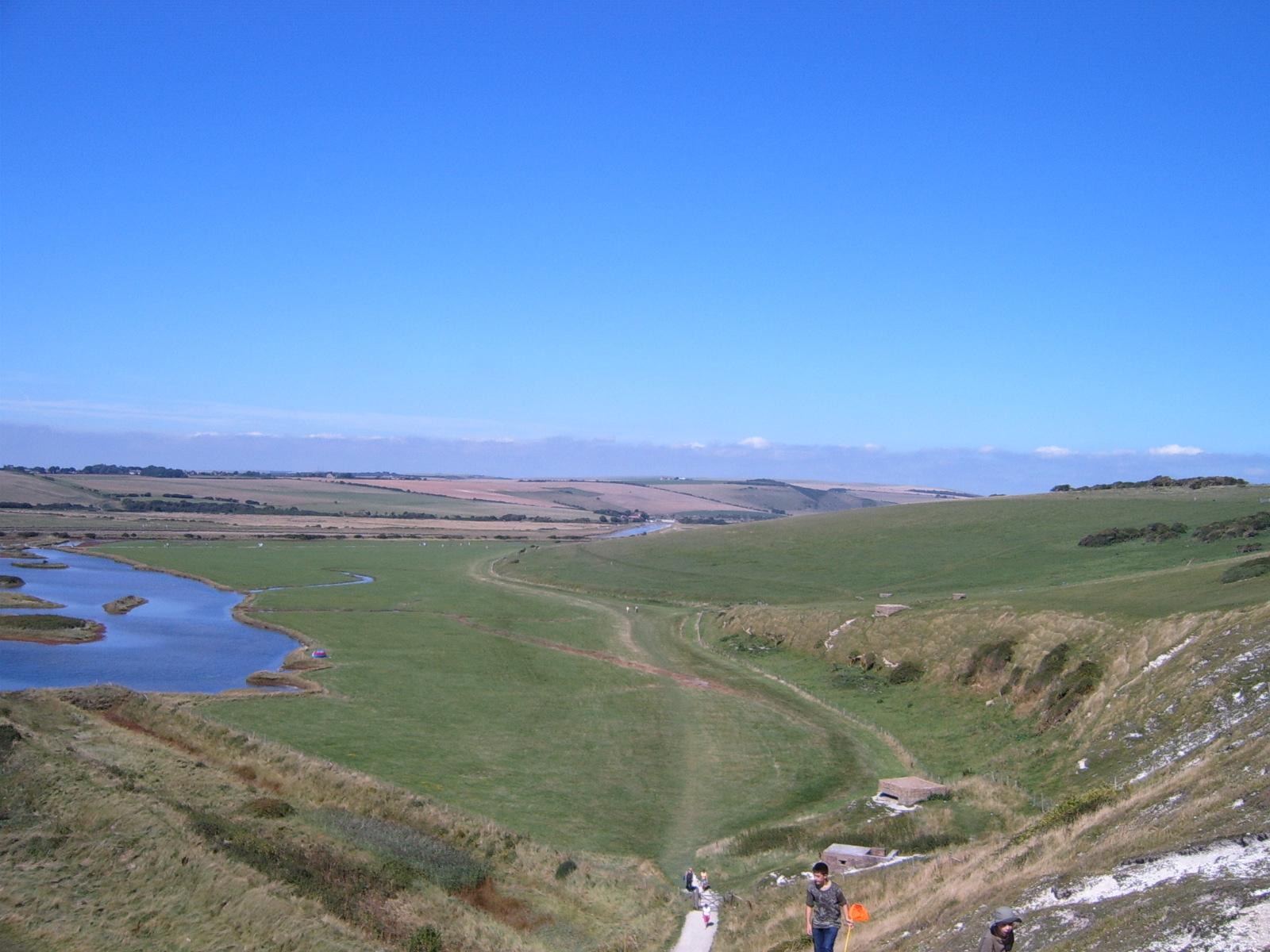 Cuckmere valley