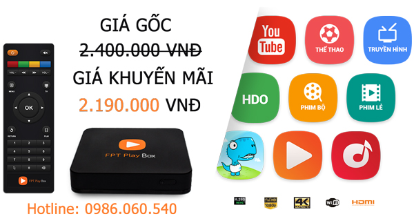 android tv box fpt play box