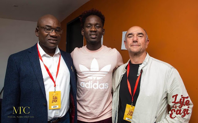Mr Eazi Releases First Pictures Of His Dad (Photos)