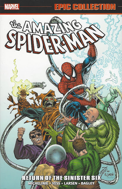 Amazing Spider-Man Epic Collection, v. 21: Return of the Sinister Six cover