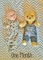 1 Month Photo Shoot