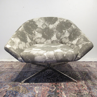 Contemporary Floral Chair 2