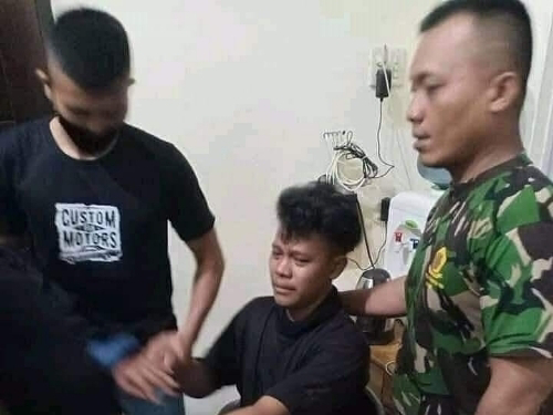 Komentar Cabul Buat Istri Kru KRI Nanggala, Imam di Medan Nangis Diciduk TNI, Ternyata...